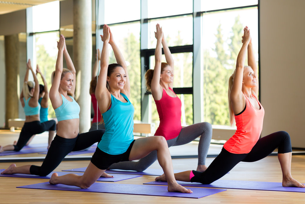 Yoga & Movement Classes - We offer a wide array of classes for all age groups and levels.