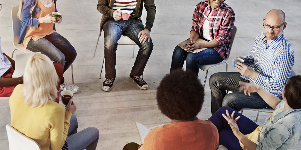 Group Therapy - Group Therapy is an effective and efficient means for dealing with our challenges. We offer various programs.Our Dialectical Behavioural Therapy, in a unique in person or live online format that enables you to keep your lesson for the week while you are in the training.