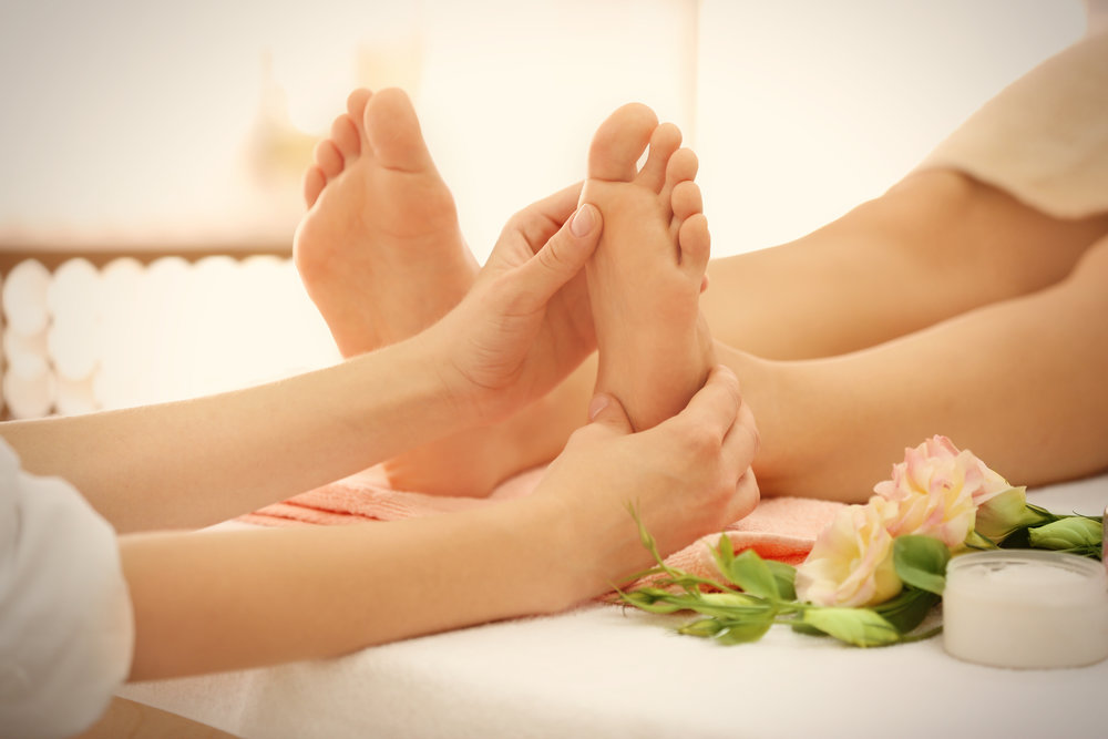 reflexology - Feel The Stress Release Through The Feet