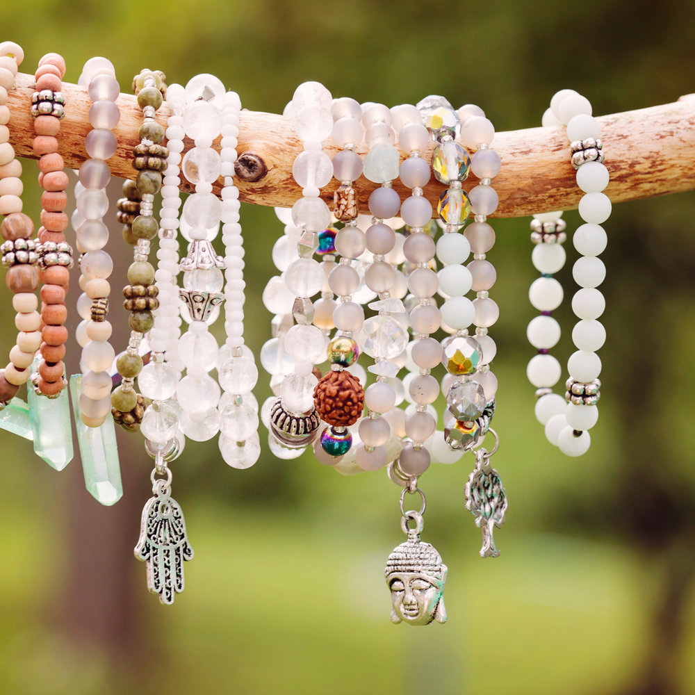 We have some beautiful and uniquely designed bracelets.  Prices range from $7.99 - $ 25.99