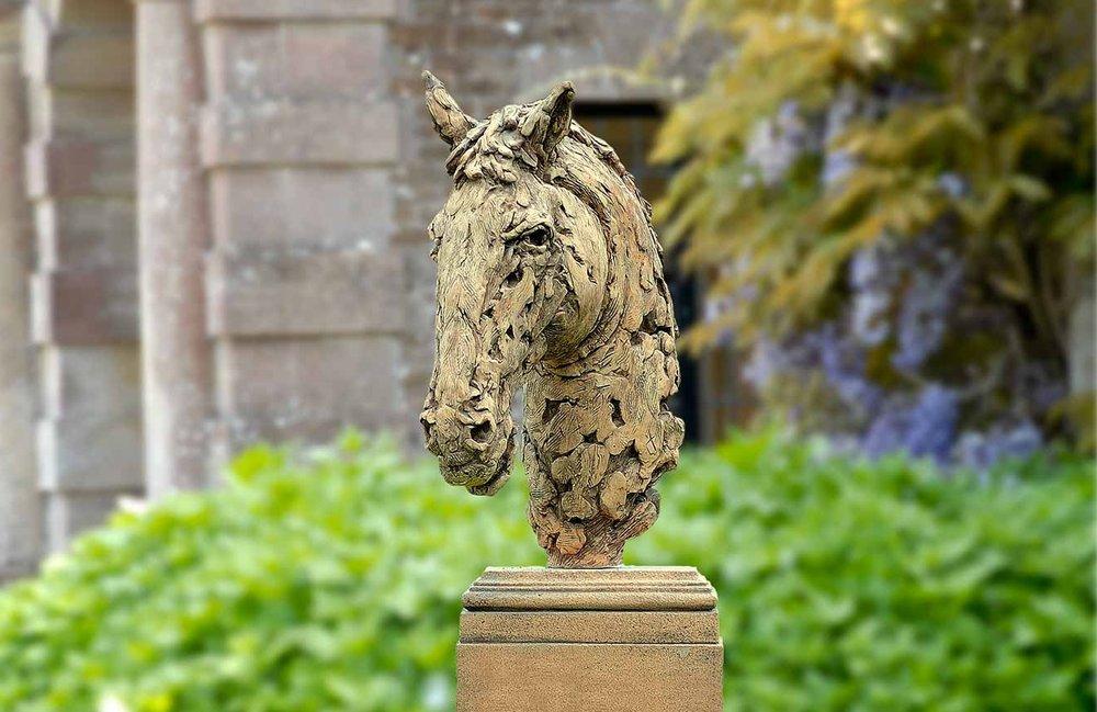 Contemporary Horses Head