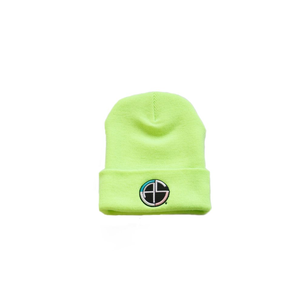 c.a.s. safety yellow beanie -