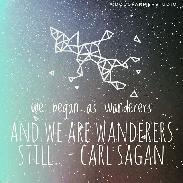 #wednesdaywisdom from the great Carl Sagan. Best of luck to everyone prepping for Thanksgiving tomorrow, just put the turkey in the brine bath, here's hoping for a picture perfect bird tomorrow :) . . . #geometricart #geometricpainting #spaceart #abstractart #carlsaganquotes #skypainting #carlsagan #emergingartist #instaart #artforsalebyartist #artcollector #interiorstyling #houston #houstonartist #galaxypainting #galaxyart #shapedcanvas #nebulaart #wednesdaymotivation #wednesdayhumpday #cosmic #cosmicart #universe #universequotes