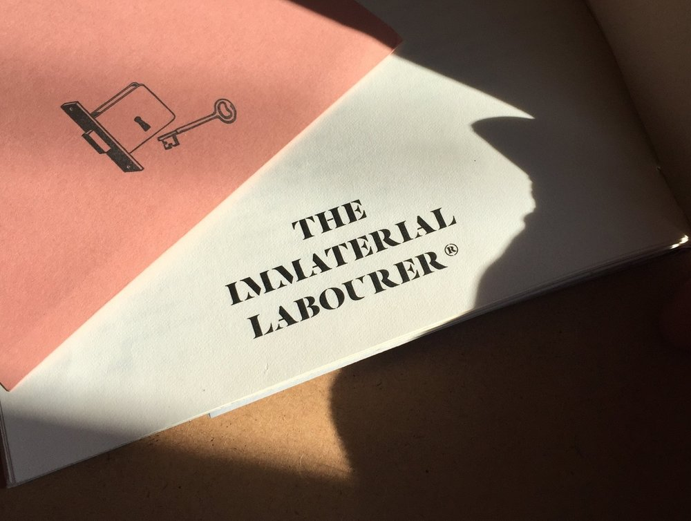 The Immaterial Labourer