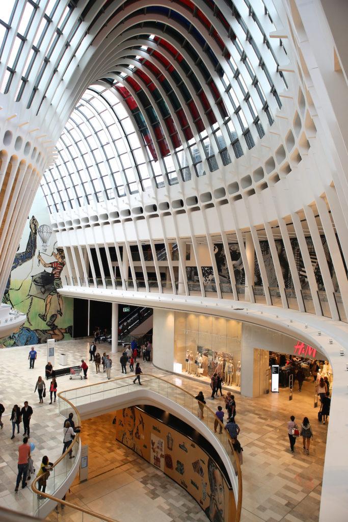 inside eastland shopping centre