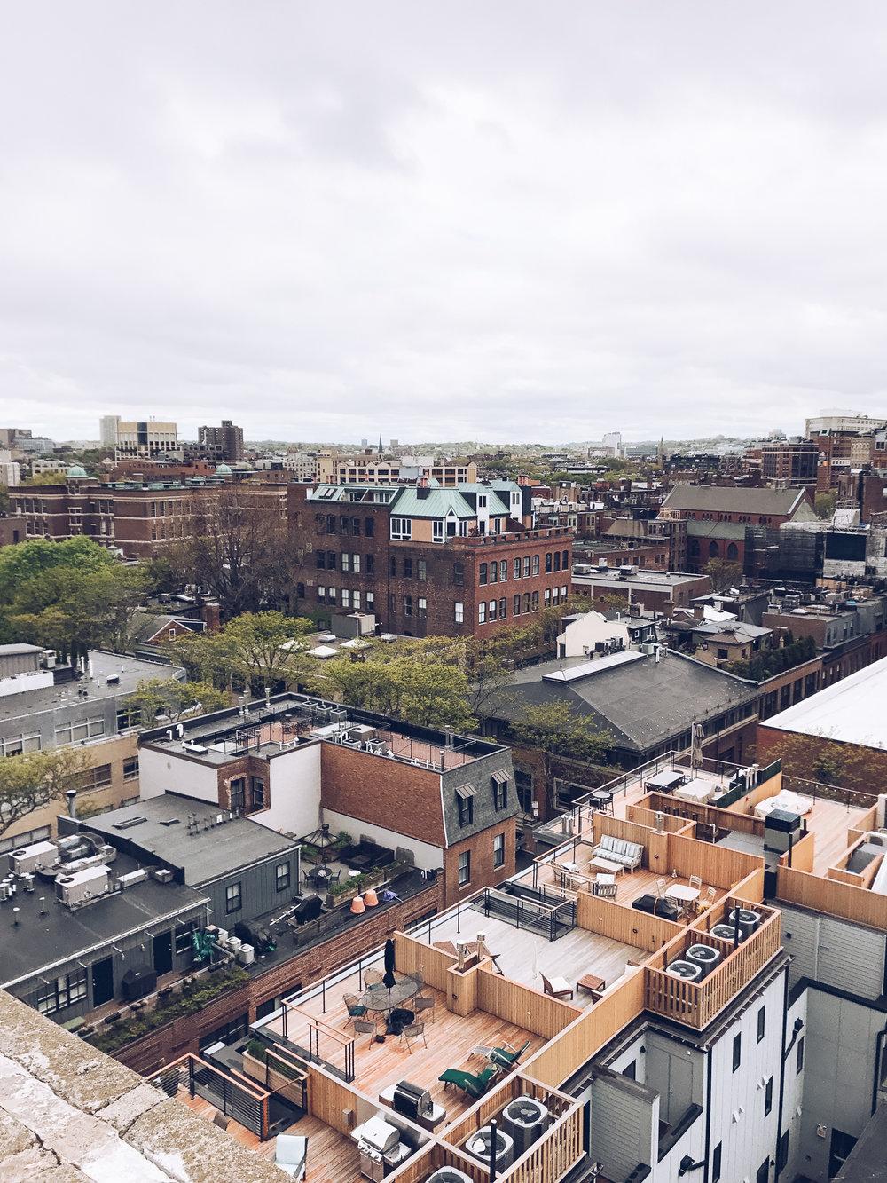 Revere Hotel Boston Rooftop