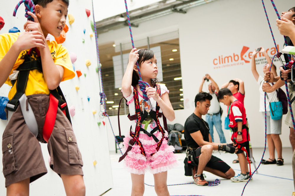 KIDS INTRO - A child-friendly introduction to climbing means less time talking and more time climbing!