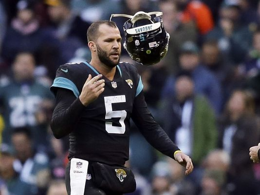 Remember when Bortles lit the Steelers up for 40 pts last year in the playoffs? Well obviously Doug Marrone does.  Photo Credit: USA Today