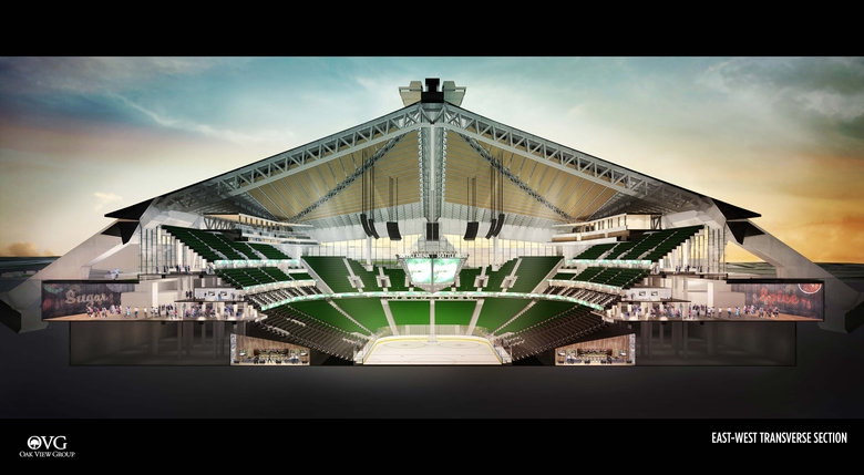 Planned renovation for Key Arena  Photo Credit: Seattle Times