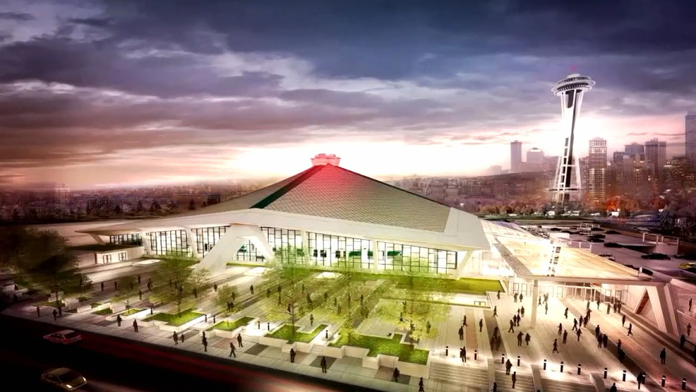 Planned renovations for Key Arena  Photo Credit: Seattle Met