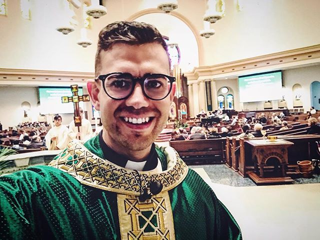 Two days serving a mission in the most amazing and lively parish I've ever visited, and all I have to show for it is this sneaky selfie.