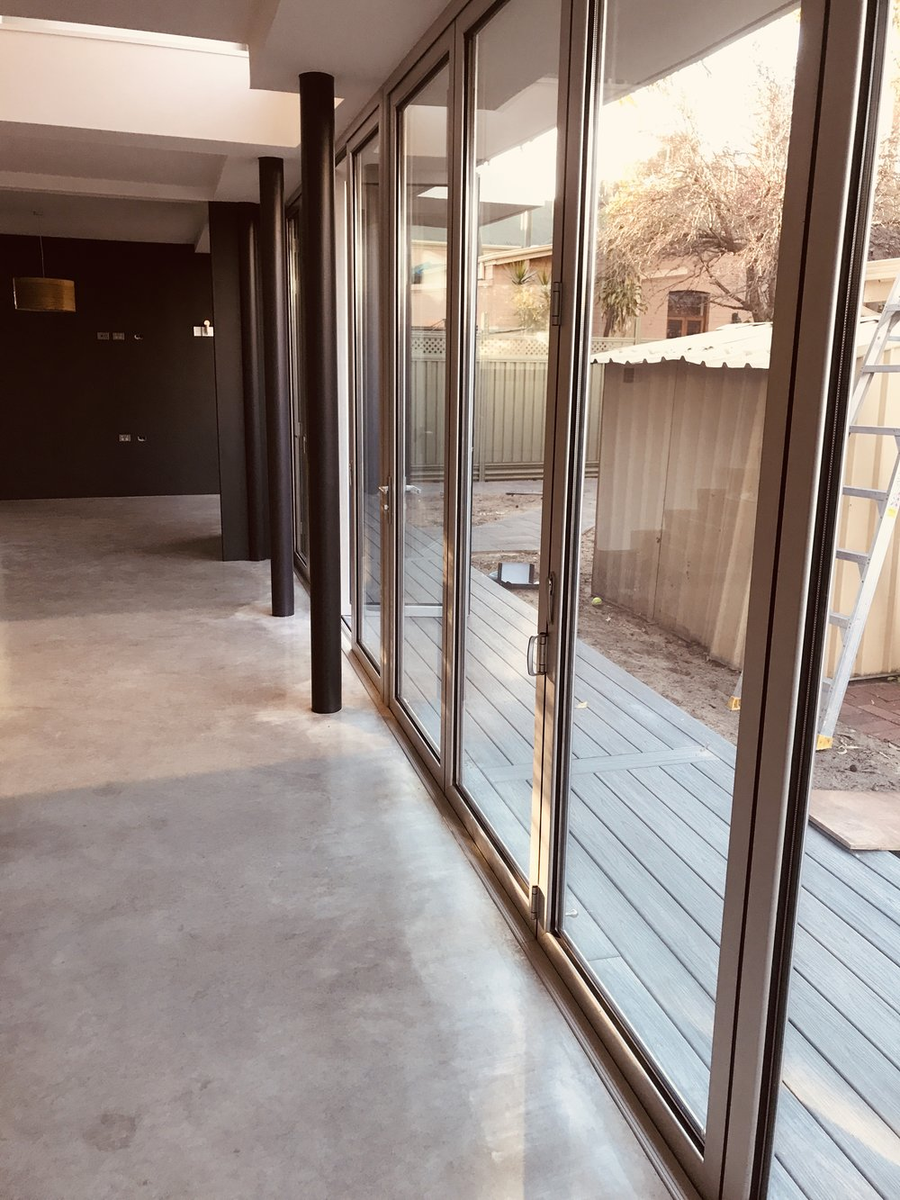 Highgate, WA - Bottom Rolling Bifold Doors, 24mm Insulated glass units