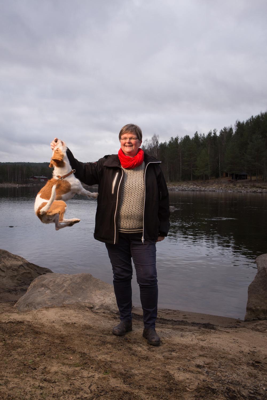 Porträtt för KIWA taget i Umeå