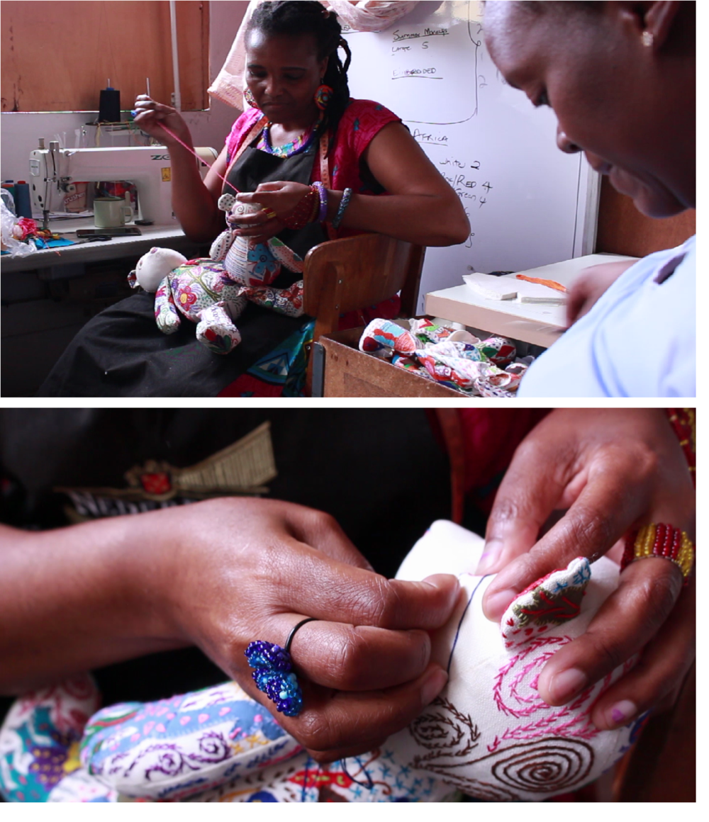our artisanS - We work with talented women in South Africa who need fairly paid wages to support their families. Each unique toy they make has their signature touch because each toy is individually handcrafted and embroidered using high quality materials.