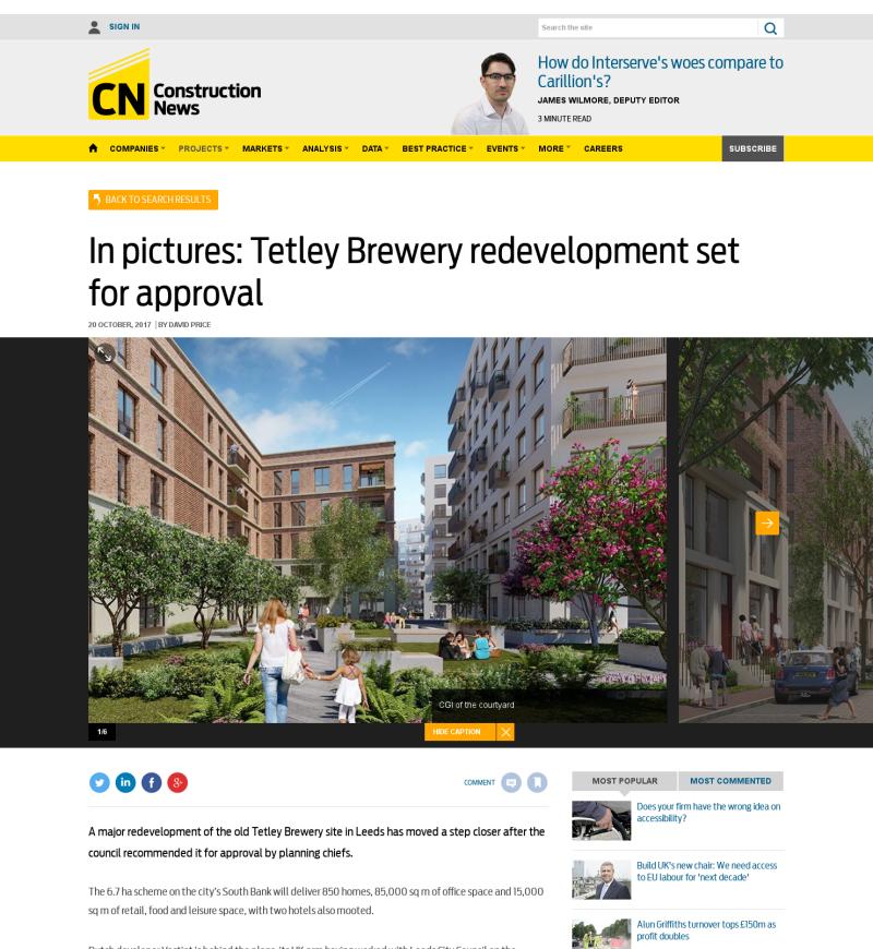 Construction News, 20 October 2017