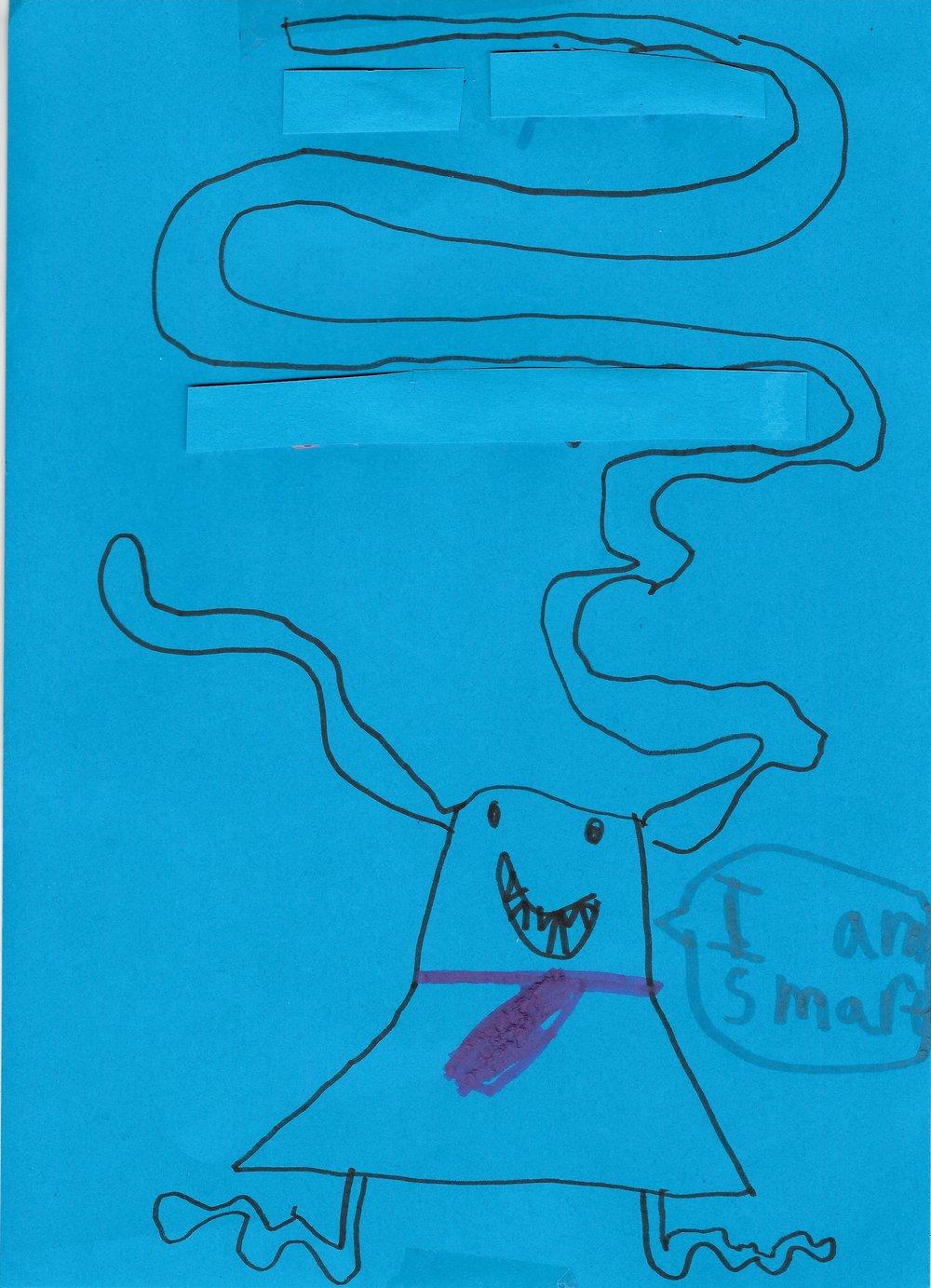 Sam, Aged 6
