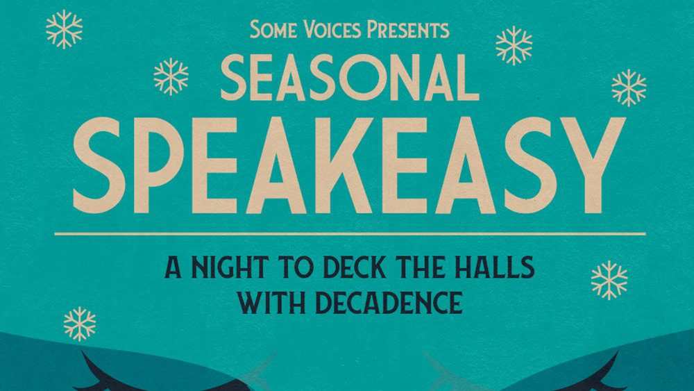 "SEASONAL SPEAKEASY   Some Voices have been billed as London's coolest choir by Time Out so who else would you want to go see sing some massive tunes than these guys eh? Rather more importantly though we've seen them before at a Bowie themed evening and can indeed vouch for their incredible talents and frankly if you can't trust the opinion of the Halpern Hotlist then who can you trust. Ahem.  Some Voices Seasonal Speakeasy  at The Troxy on Monday 10th December is priced at £10 which is a bargain when you think you get to enjoy a 500 strong choir with a live band singing classics from Amy Winehouse, Shirley Bassey, Plan B to Basement Jaxx. Trust us, they get your goosebumps raving with their voices and you can ""party like it's the end of prohibition"". It's a seated occasion so the sooner you buy your tickets the better the seats you'll get. Simple .  Facebook  