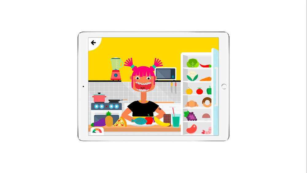 FITOONS    Fitoons  is a brilliant app designed for kids by the guys at Avokiddo. The app is all about exercising, eating healthy and getting fit but in ways that kids find fun and interactive. It's educational but they can play games whilst learning. A bit like cutting up veggies really small in a spaghetti bolognaise they won't even realise they are reaping the healthy benefits as they will be distracted by the games. They can pick characters, dress them up, copy exercises, cook in the virtual kitchen and overall learn healthy habits that will hopefully stay with them as they grow. Whilst we may not necessarily always want to encourage too much screen time for the little ones, when they get so much healthy output like with Fitoons, we think it's worth it.  Facebook  |  Instagram  |  Twitter