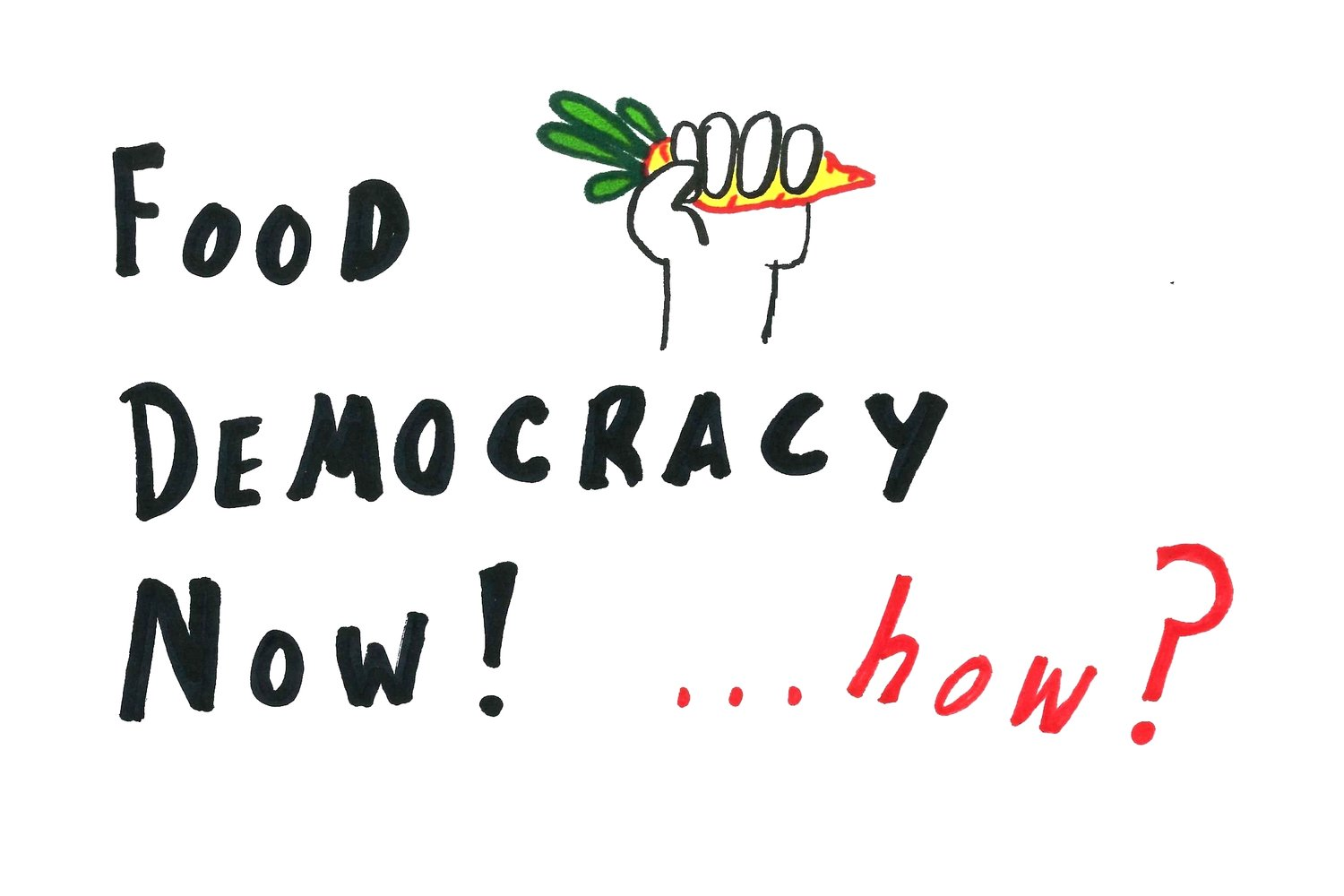 Food Democracy Now! ... how?