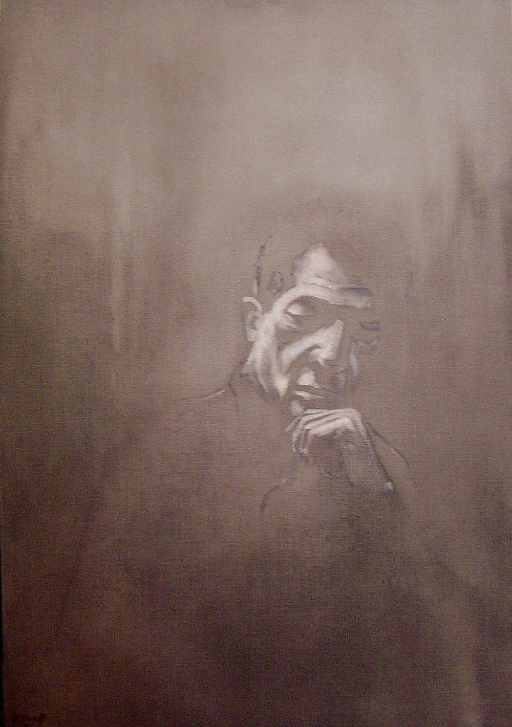 The Encounter , olieverf op doek, 80x130, 2008