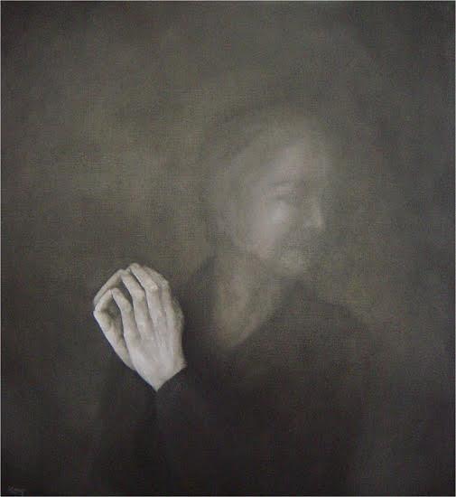 Moment (2) , olieverf op doek, 105x115, 2003