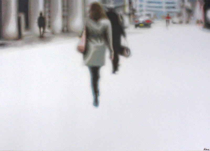 Chronicles , olieverf op doek, 140x100, 2011