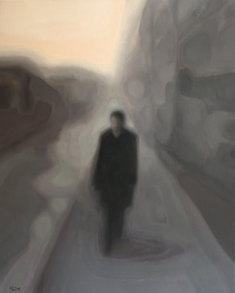 Eyewalk,  olieverf op doek, 80x100, 2010