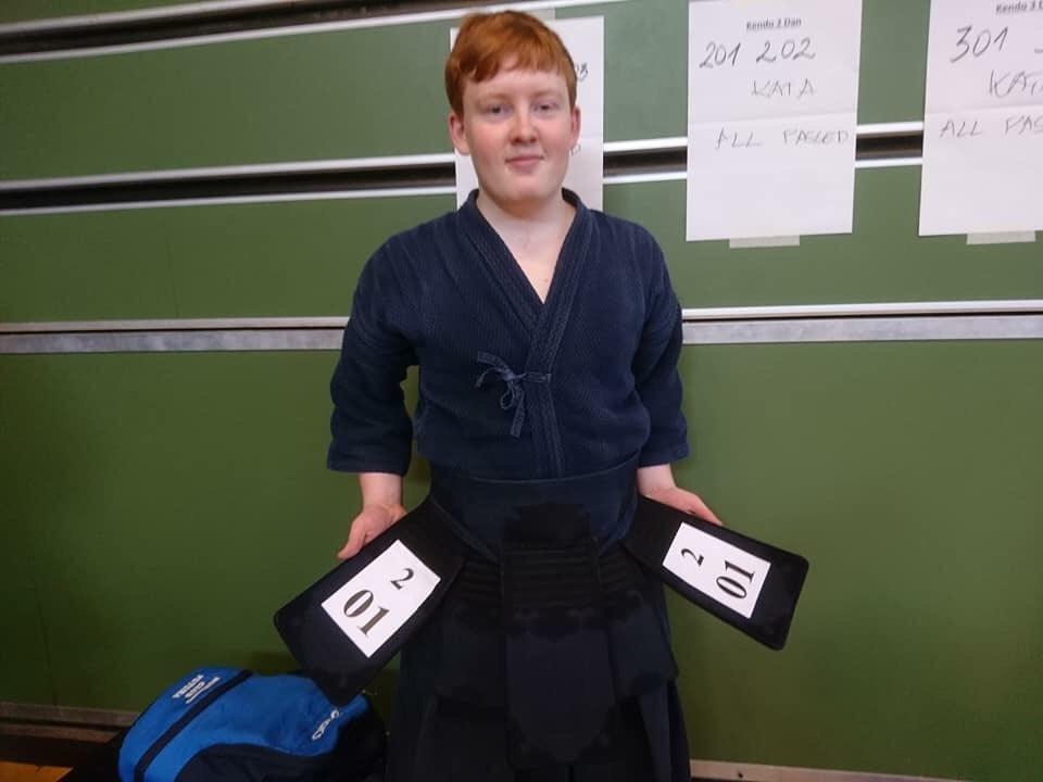 2. Dan. Jason, Nordfyn kendo