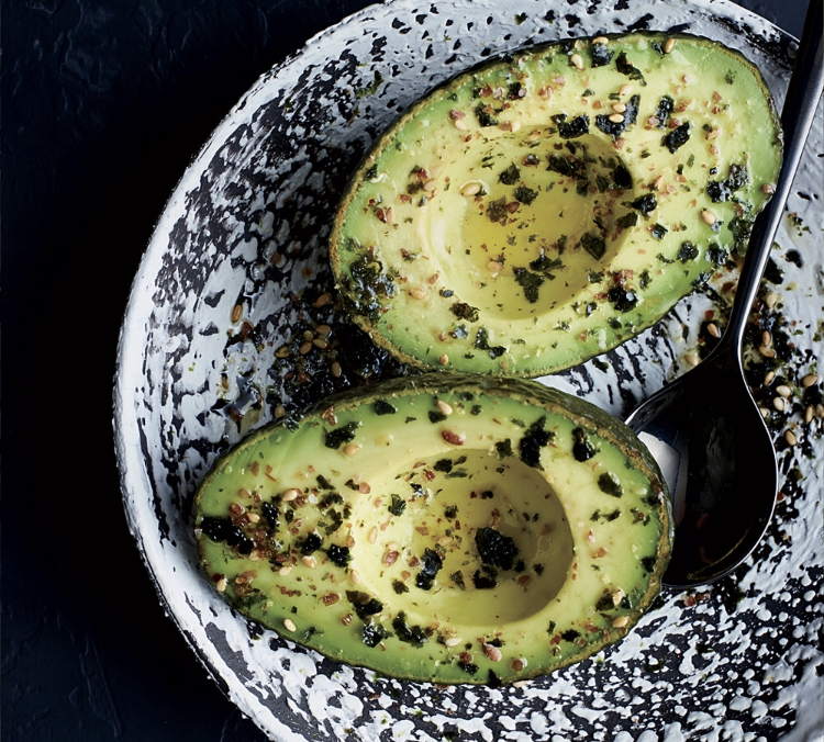 Avocados - Adding this creamy fruit with other veggies helps your body better absorb all the nutrients and vitamins from those foods! Packed with Omega 3 Fatty Acids it fights inflammation and boosts the brain!