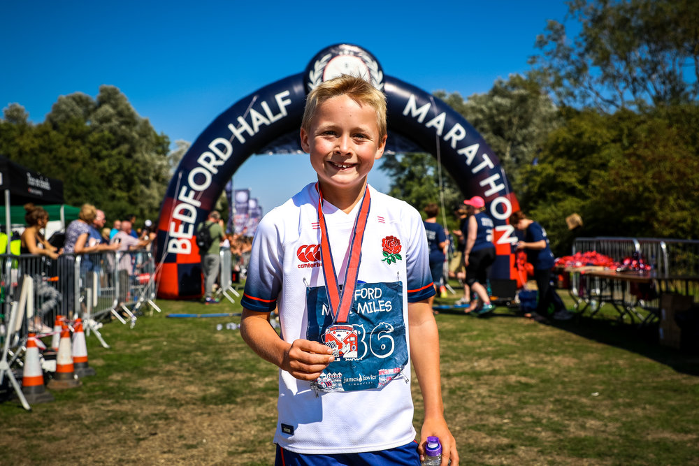 How old do I have to be to run? - 8 years old or older on race day