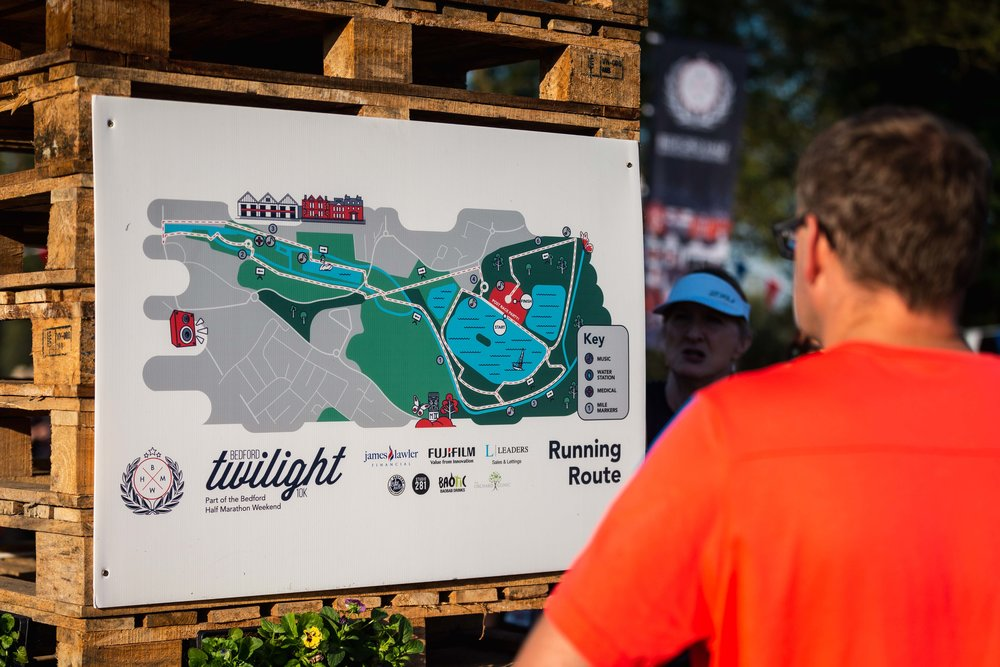 Is there a map of the course? - CLICK HERE
