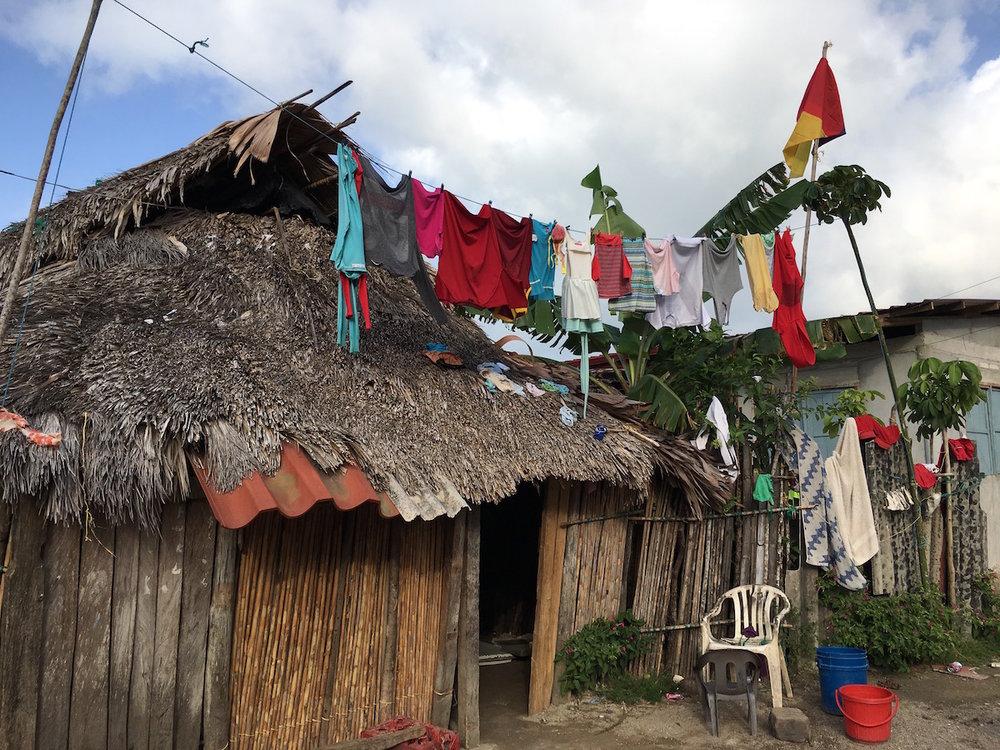 Laundry day. ©Sabine Heinlein 2019
