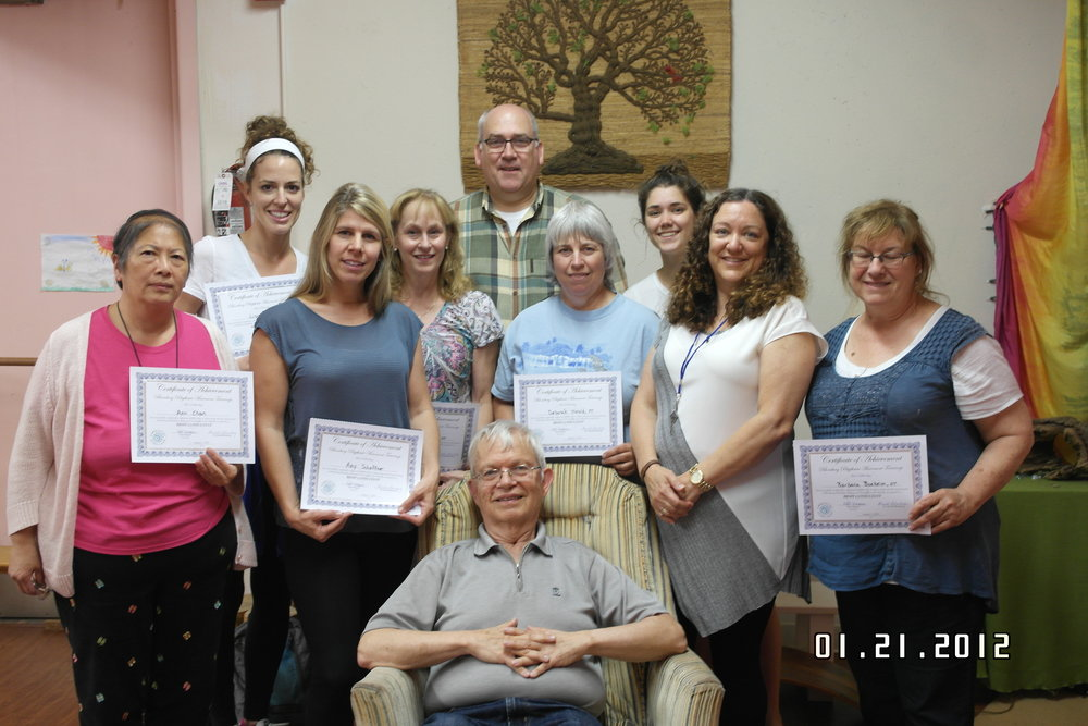 Harald Blomberg in Chicago, IL with a group of newly created consultants and instructors.