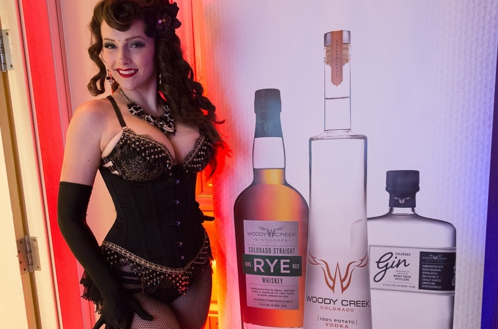 - Woody Creek Distillers Booze Brass and Burlesque