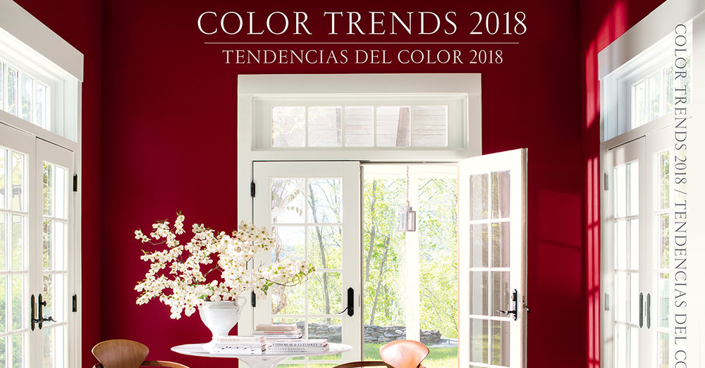 Colour Trends 2018 - Strong, radiant, full of energy, Caliente is total confidence.