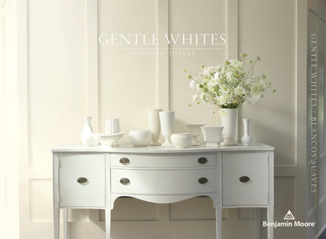 Gentle Whites - Never underestimate the power of pristine. White can be art gallery modern, country house classic or spring flower romantic. For a fresh perspective, try layering our collection— mix shades, mix finishes—every one here gets along beautifully.
