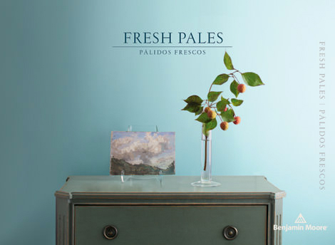 Fresh Pales - Exceptionally flattering, our pales are a feel-good, look-good way to live. Think sweet pea pinks, ripe green melons and duck egg blues. Layer them to create dreamy, beautiful backdrops that feel modern and always fresh.