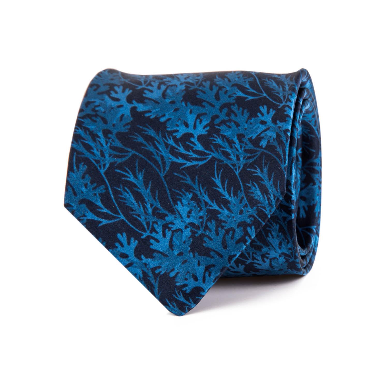 ef04c527ccbe Tonal Floral Printed Silk Tie — Silvio Fiorello