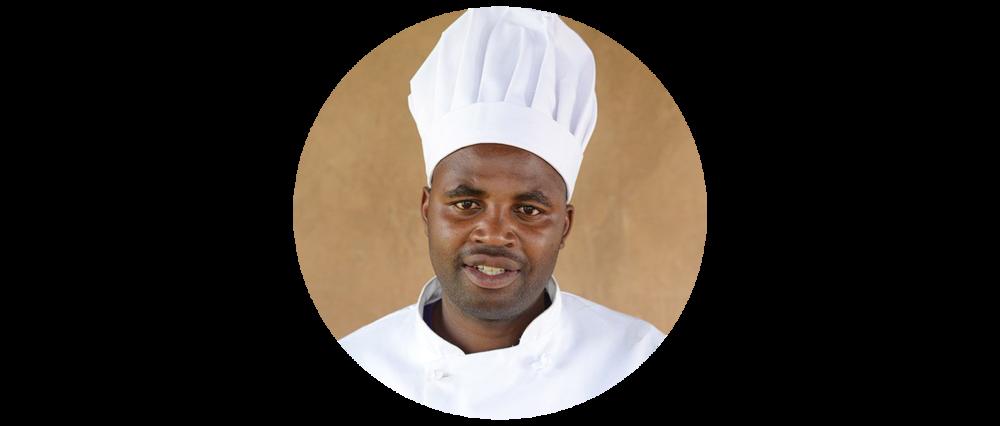 John Twebaze - Head Chef