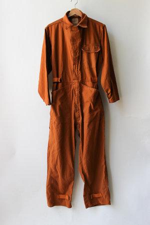 63edbce12c0 Upcycled Vintage Military Flysuit- Clay ...
