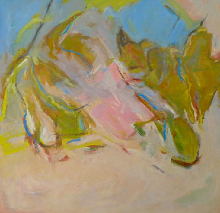"""Wild Pear, 36"""" X 36"""" oil on canvas"""