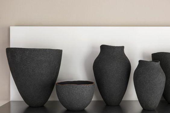 Black Ceramics by Enriqueta Cepededa
