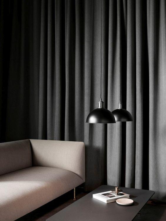 Godot Sofa by Iskos-Berlin for Menu | Tribeca Hubert Pendant by Søren Rose Studio for Menu