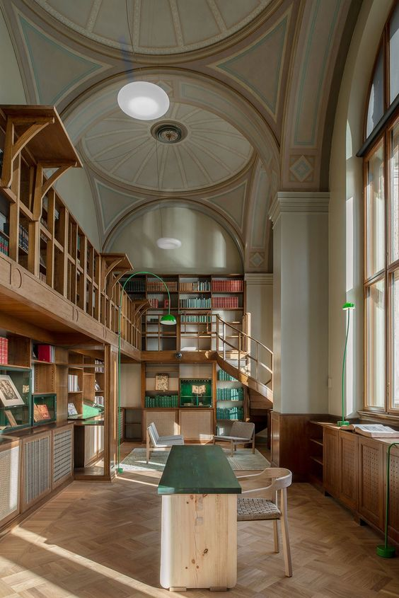 Nationalmuseum Old Library. Photo by Andy Liffner.