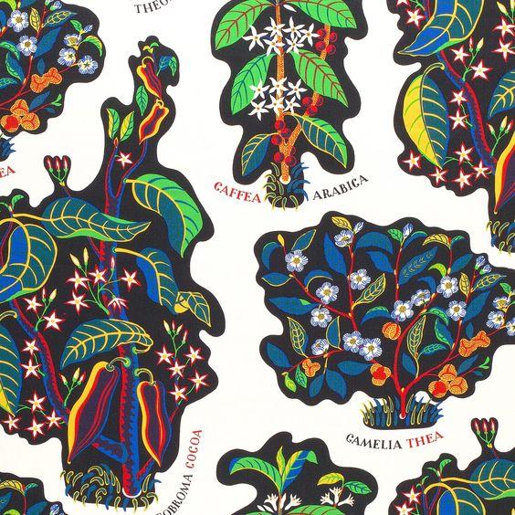 Josef Frank Textile Drinks | Svenskt Tenn