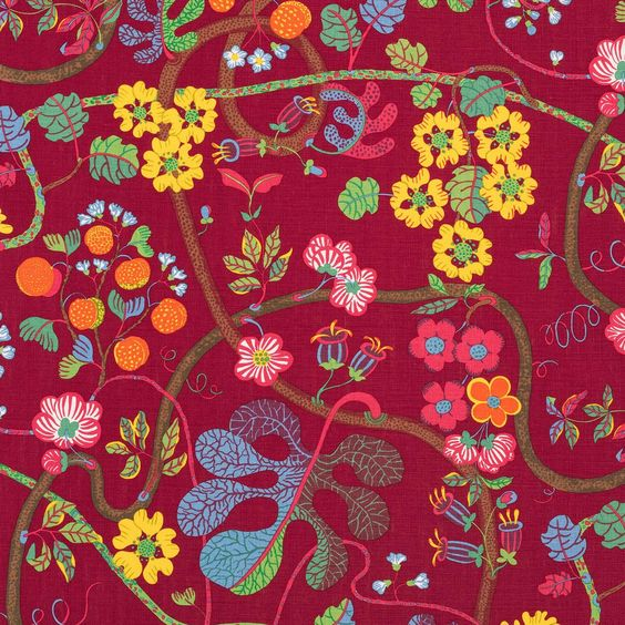 Josef Frank Textile Textile Baranquilla | Svenskt Tenn