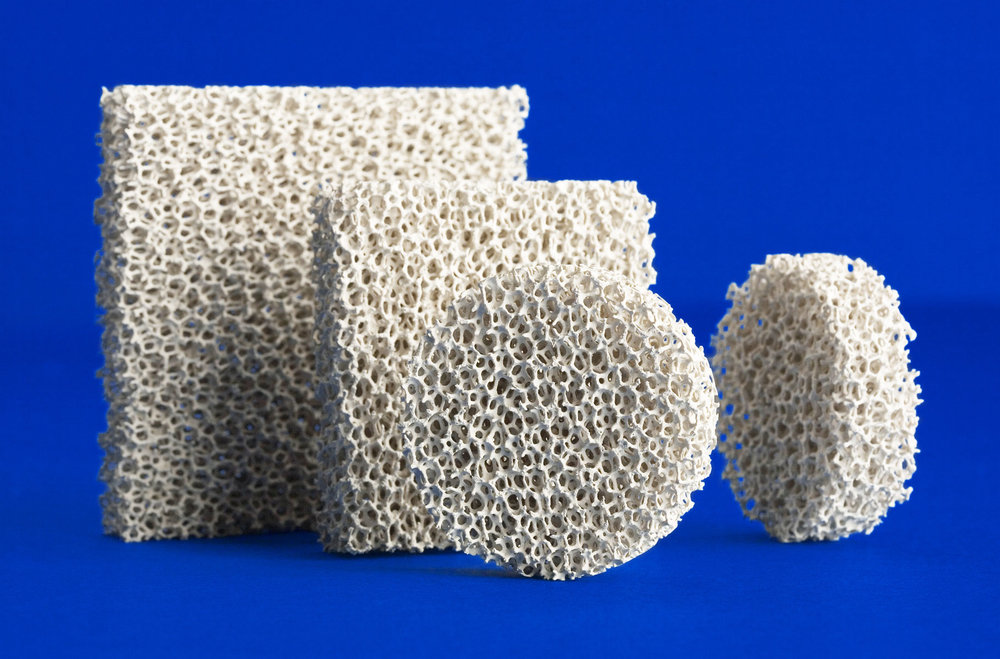 Ceramic Foam Filters of SELEE® structure are preferred by aluminum foundries of all types and levels of production due to their effectiveness, ease of use, and low cost.