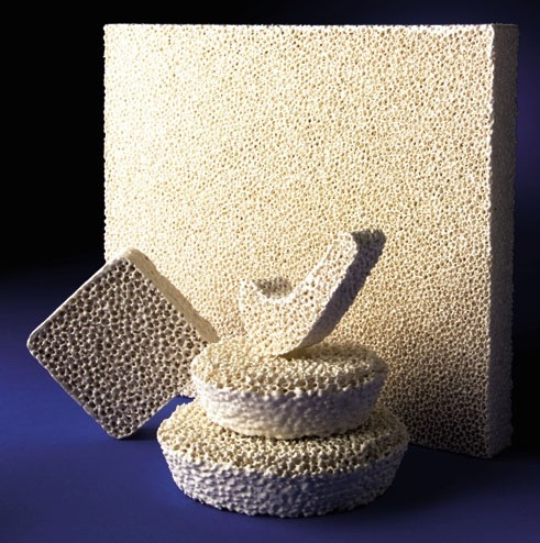 SELEE investment casting filters can be supplied in a wide range of sizes and shapes.
