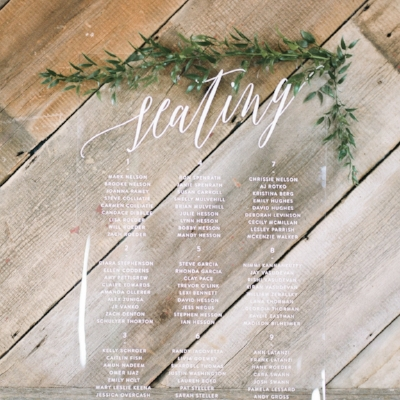 EVENT STATIONERY - From programs and menus to place cards and signage, we offer all of the coordinating day-of items to put a beautiful finishing touch on your event.