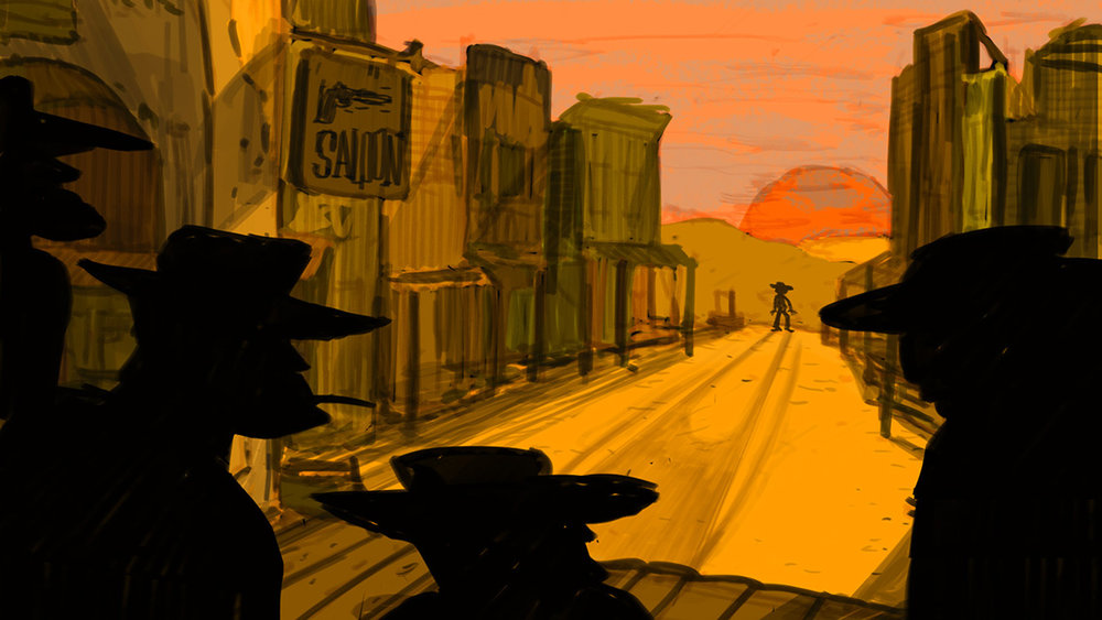 Speed Painting [03] 23/03/2018: you call this western?/e questo lo chiami western?